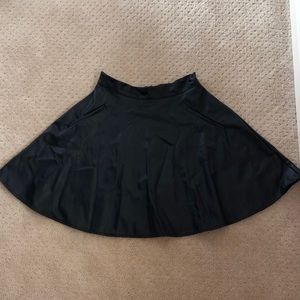 one clothing Skirts - High waist leather skater skirt